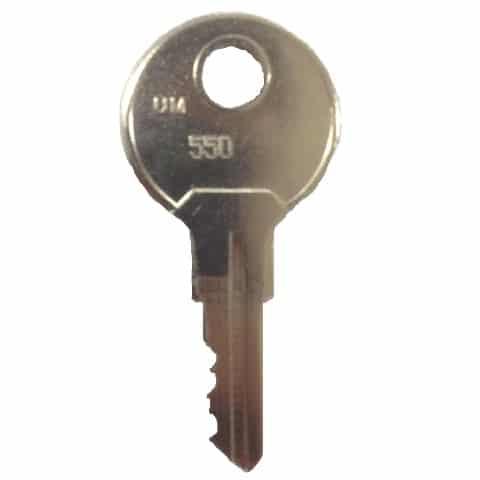 Camlock-Schlüssel Nr. 550 (Generalschlüssel)