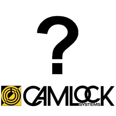 Camlock Systems Logo question mark