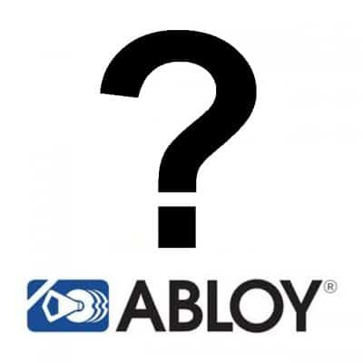 Abloy Logo with Question Mark