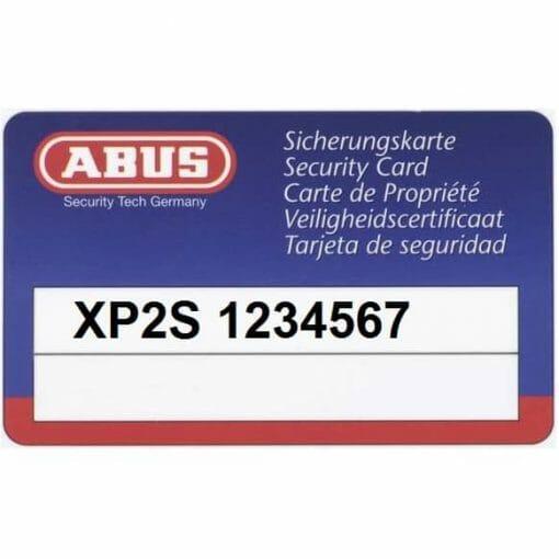 ABUS Security Card